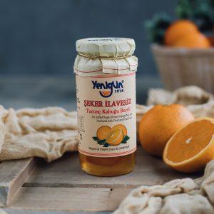 Sugar free bitter orange peel jam, 290 G