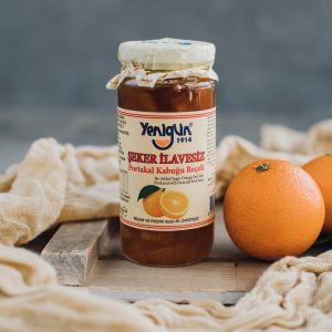 290 gr. Apelsinų žievelių džemas be cukraus