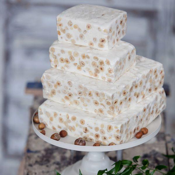 (Luxury) Vanilės skonio Lukumas su lazdyno riešutais (200 gr.)