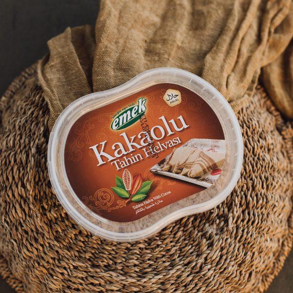 350 gr. Sezamų sėklų chalva su kakava