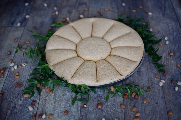 Sezamų sėklų chalva su aštriasiais pipirais (200 gr.)